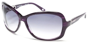 Alexander Daas Majesty Purple with Grey Gradient Lenses